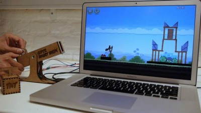 Контроллер для Angry Birds