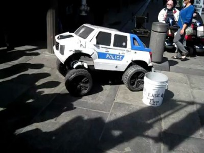 Полицейский - трансформер