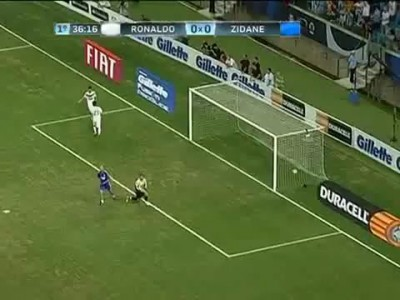 Ronaldo vs Zidane 3-2 All Stars Friendly-Amistoso 19-12-2012