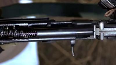 Стрельба из АК без крышки и трубки