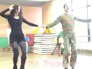 бедуинский танец дабка