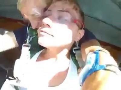 Первый раз страшно ! Прыжок с парашютом