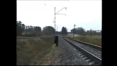 "Съемки клипа ""Stop Drugs"" (сальто,фрагмент)"