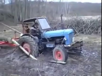 How to get out of mud when stuck!