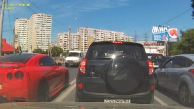 ДТП в Самаре, Nissan GTR