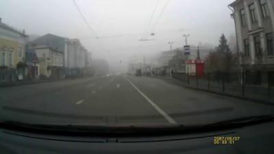 Нарушитель и гаишник в Казани