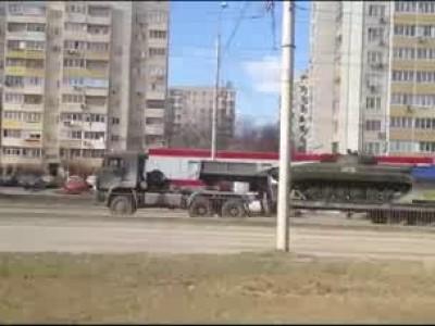 Мобилизация российской бронетехники