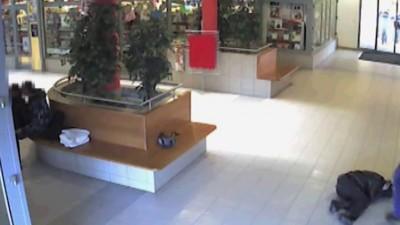 Шокирующее нападение в торговом центре