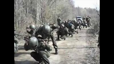 """Спецназ ВВ МВД """"Пересвет""""- первичный допуск на сдачу."""