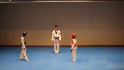 необычный тхэквондо combat dances