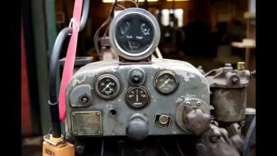 Запуск дизельного двигателя после простоя 50 лет stroke diesel engine