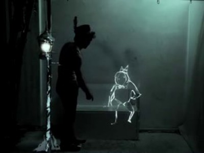 Алхимия света / Projection mapping live performance art - The Alchemy of Light by a dandypunk