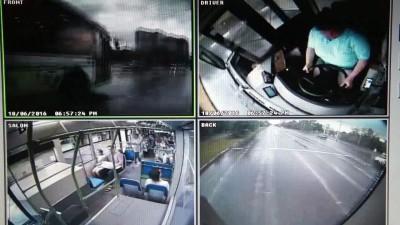 ДТП автобусов.