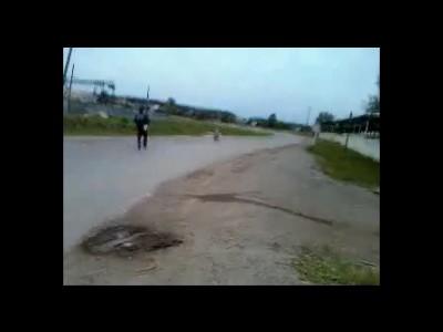 Полиция и Мотоцикл