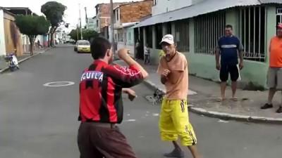 Смешная драка двух мексиканских алкашей