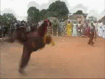 Нереальный танец