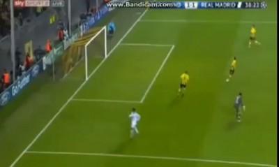Borussia Dortmund vs Real Madrid 1:1 goal Cristiano Ronaldo 38'