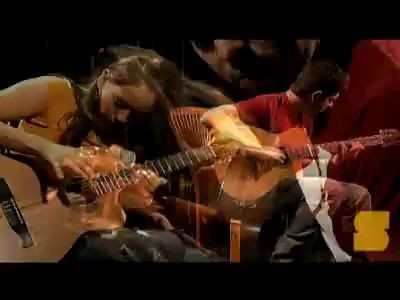 "Rodrigo, Gabriella - cover of Metallica ""Orion"""