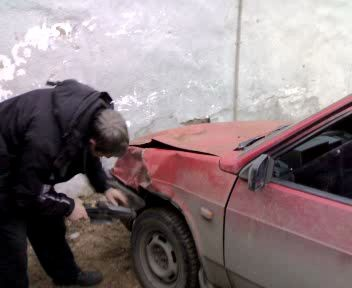 Ремонт машины по-русски