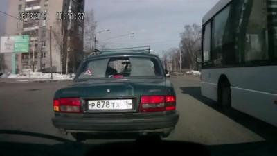 ДТП Волга + Матиз + 2112