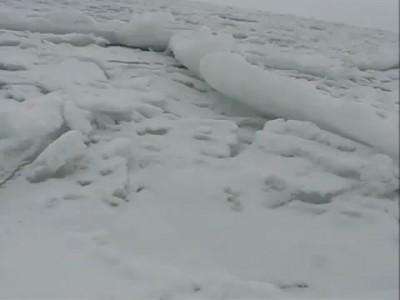 Звуки льда на Черном море