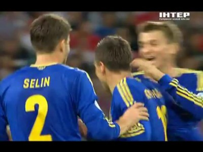 Невероятный гол Коноплянки!!! Англия — Украина 0-1