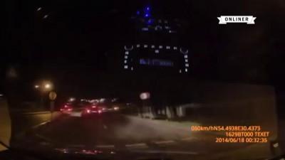 Преследование пьяного водителя в Витебской и Могилевской области