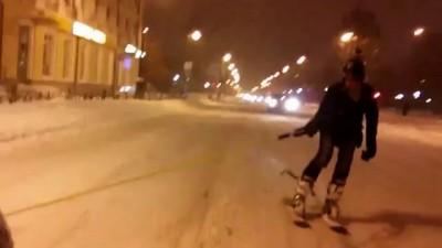 Лыжи по-тюменски!