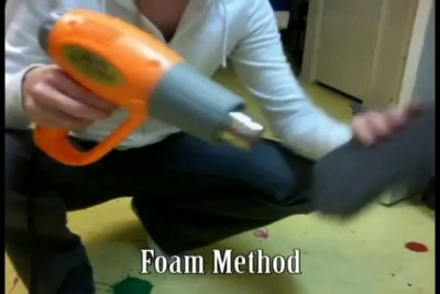 Building Armor with Foam, Part 2
