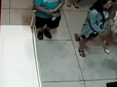 Boy trips in museum and punches hole through million dollar painting