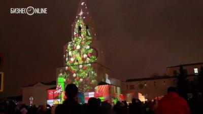 На стенах Казанского кремля показали уникальное световое шоу