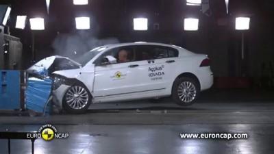 Краш-тест EroNCAP китайского седана Qoros 3 Sedan