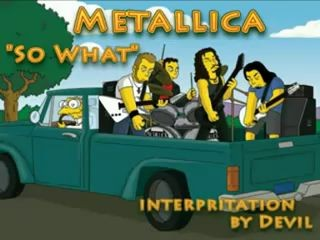 MetallicA - So What Караоке