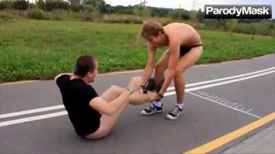 Jackass in Russia - Funny Videos