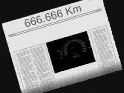 Число дьявола на спидометре