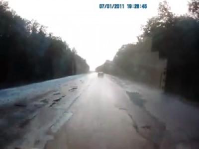 ДТП на трассе Тамбов-Москва, 29.08.2012