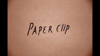 Paper clip - animation.