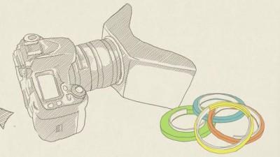 Насадка для объектива  позволяет снимать 3D-контент любой зеркалкой