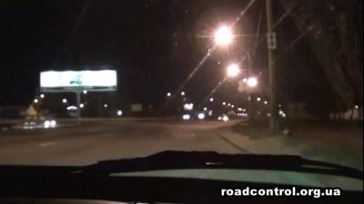 Милицейская банда преследует Дорожный контроль
