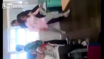 Korean Elementary School Teacher Slaps Misbehaving Student