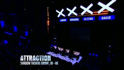 Attraction perform their stunning shadow act - Week 1 - Auditions | Britain's Got Talent 2013