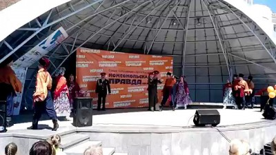 Толерантность 80 уровня, Хабаровск, 10 мая, ансамбль песни и пляски Восточного военного округа.