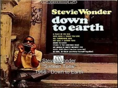 Stevie Wonder - Sixteen Tons (16 тонн)