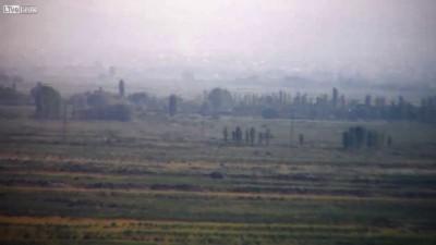 Курды подорвали конвой турков