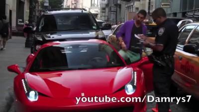 Мажор на Ferrari VS. полиция США Full HD