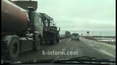 ДТП на трассе Сургут - Нефтеюганск