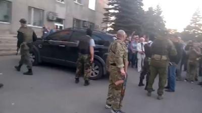 Красноармейск. Украинская армия - УБИЙЦЫ!!!!!! 11.05.2014