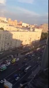 Взрыв в метро Войковская