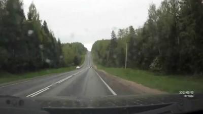 Даун на дороге - Волговод на охоте
