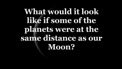 If the Moon were replaced with some of our planets